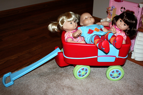 Babies-in-wagon