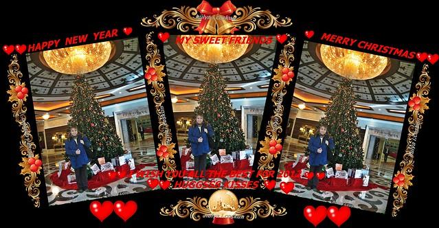 ♥♥MERRY CHRISTMAS MY SWEET FRIENDS♥♥HUGGSS KISSESS♥♥ (CYPRUS CRAT0S H0TEL)