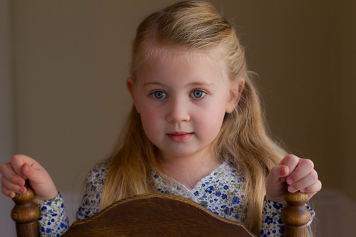 Portrait of little girl - sweet innocence