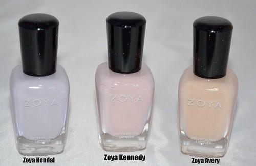Zoya Feel Collection Winter 2011