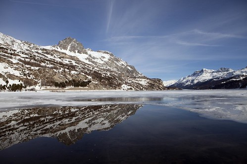 Reflection @ Lake Sils 2