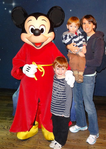 Mickey Mouse, Henry, Archie and Rebecca