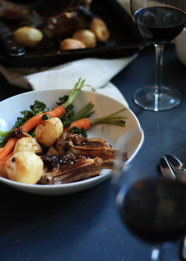 Engagement Roast Lamb