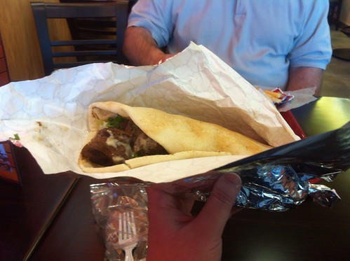 Beef Kabab Wrap by raise my voice