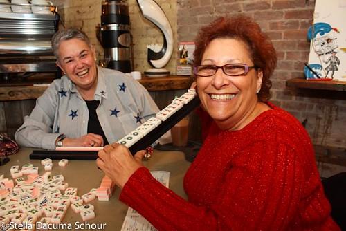 Woks and Lox 12-24-2011 Stella Dacuma Schour - Winning Mahjongg Ladyjpg