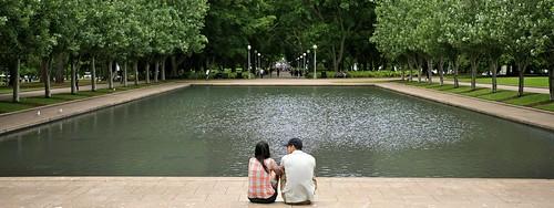 Hyde Park, Memorial Pond