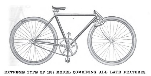 """Extreme Type"" of 1898 Bicycle"