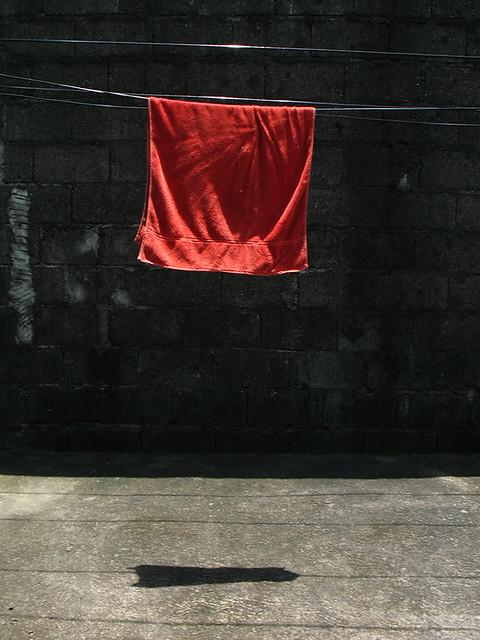 red towel at sampayan