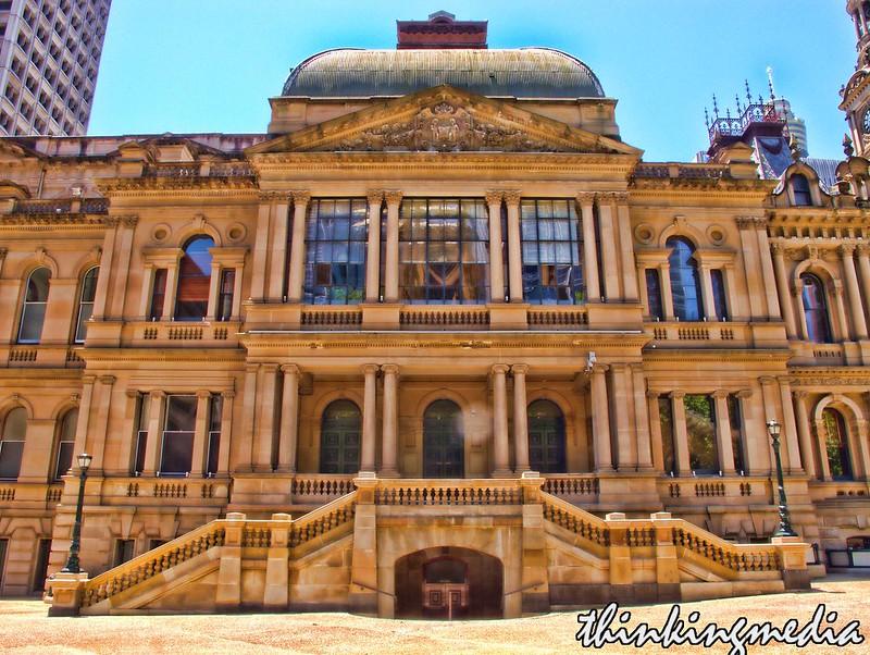 Sydney Town Hall c.1889