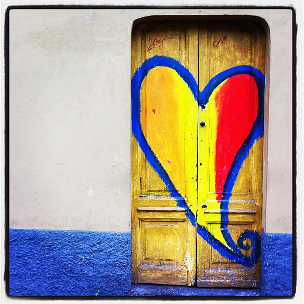The door of love...