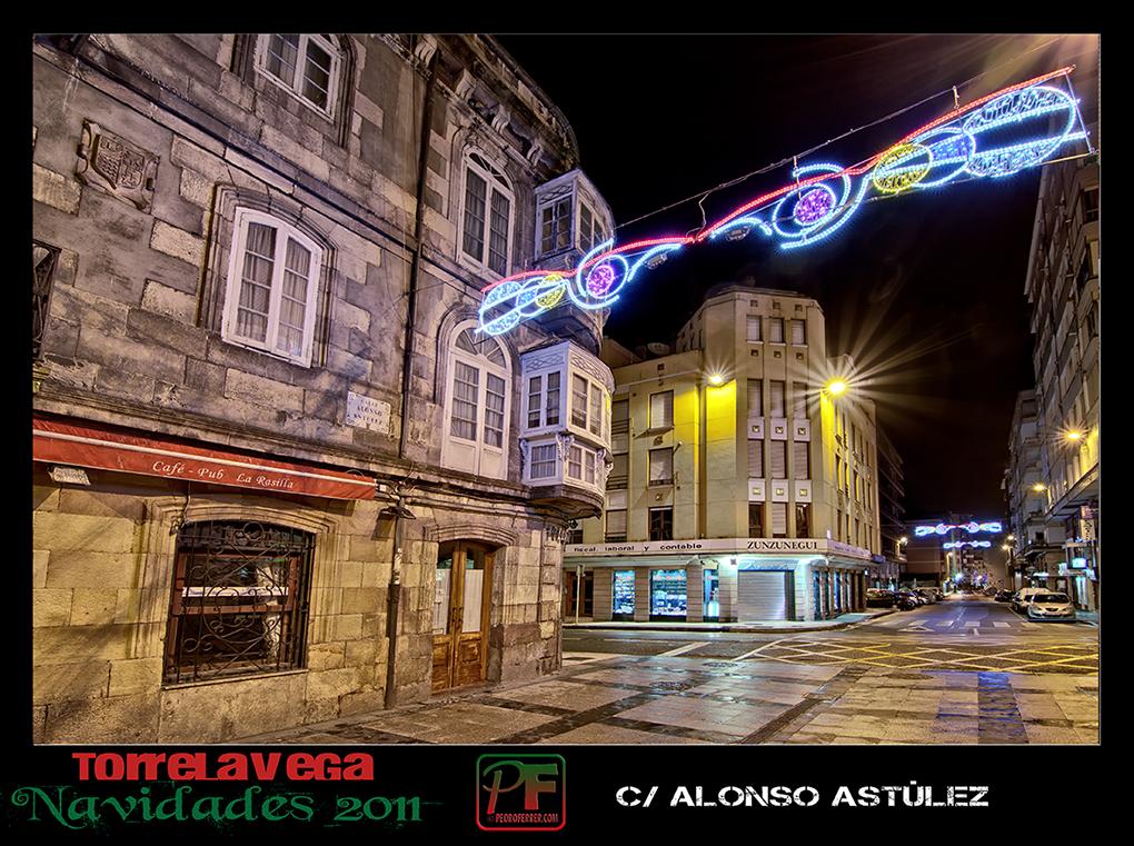 Torrelavega - Alonso Astúlez  - Navidades 2011