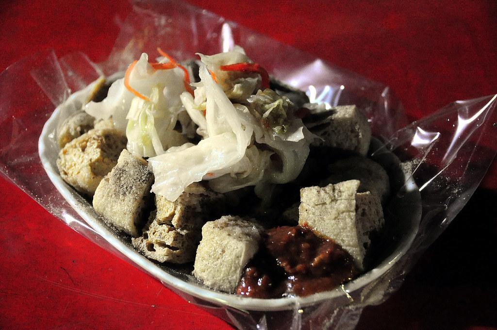 高雄明德街夜市 - 臭豆腐