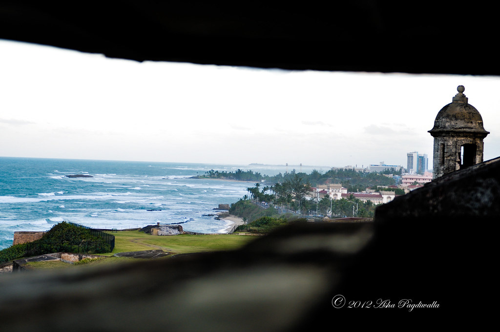 View from Castillo de San Cristobal
