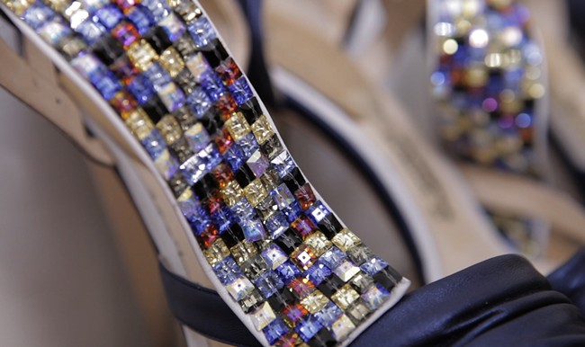 4 - Rodarte shoes backstage closeup