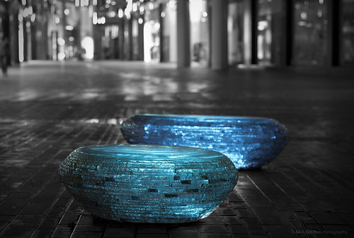 The Mystery of the glowing stones and the shopping centre.......