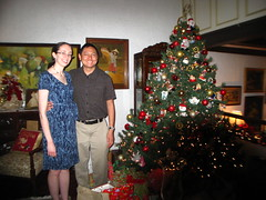 With the Bautistas' Christmas Tree