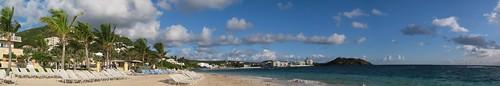 Dawn Beach Panorama 3