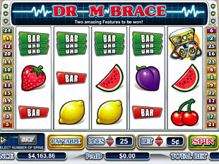 Dr. M. Brace slot game online review