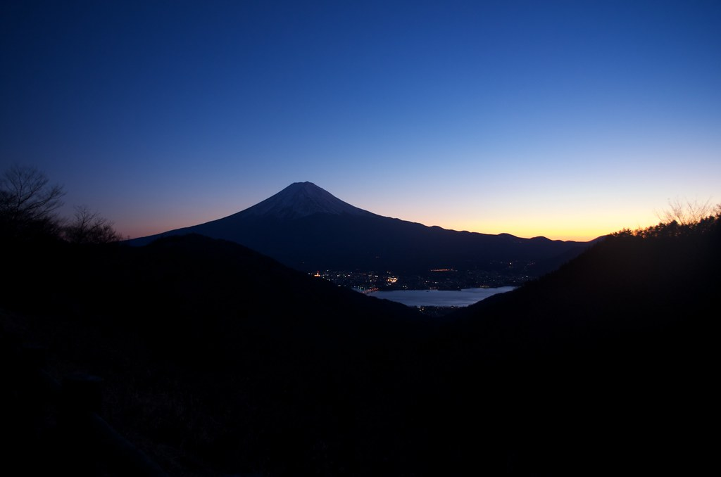 Mt. Fuji from Misaka