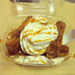 Hello Coldstone Churro Sundae
