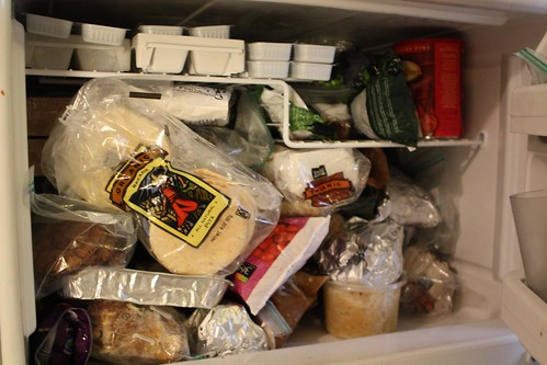 Overstuffed Freezer