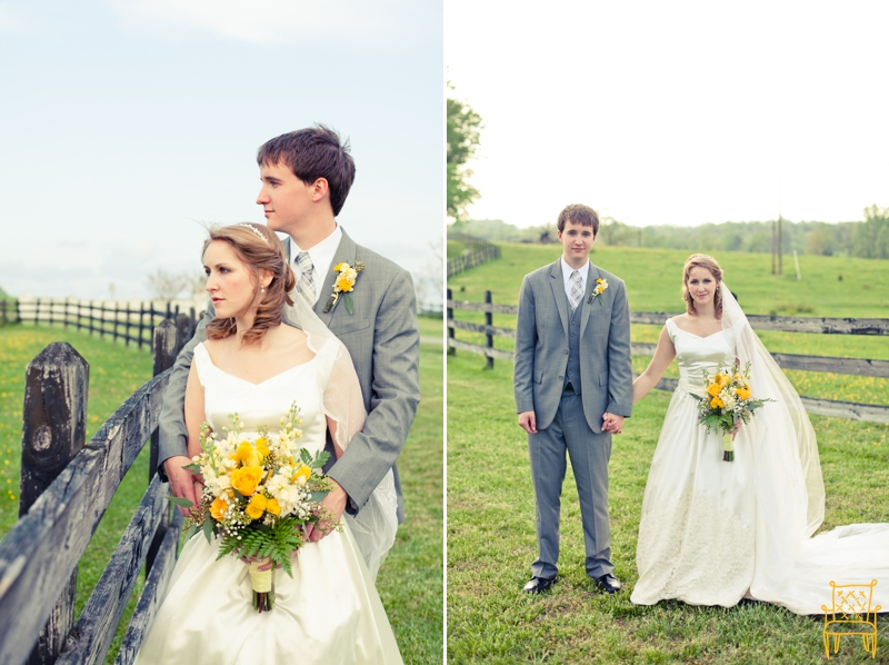 gray and yellow outdoor vintage wedding_058