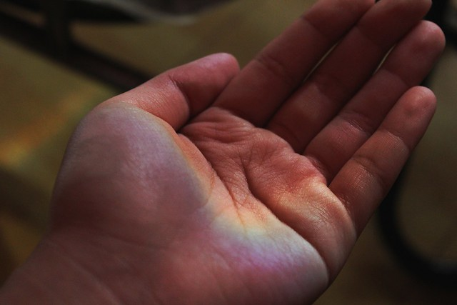 Handful of rainbow