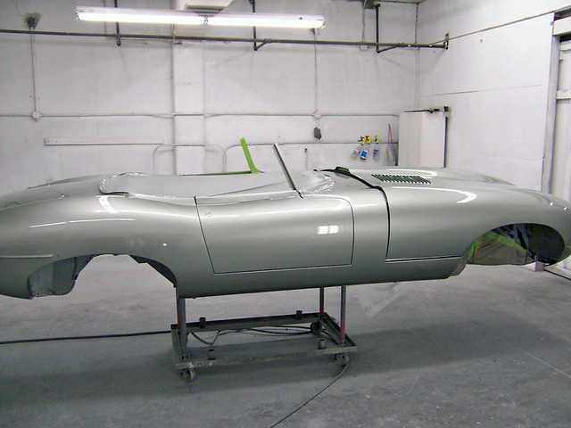 1961 Jaguar E-Type - Just Painted