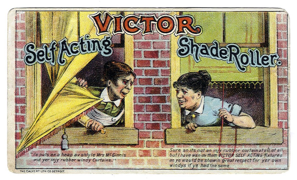 1881 - Victor Self Acting Shade Roller