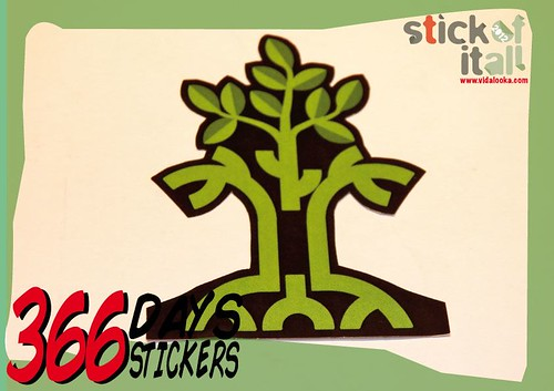 366 Days - 366 Stickers  by Vidalooka - Trading again -
