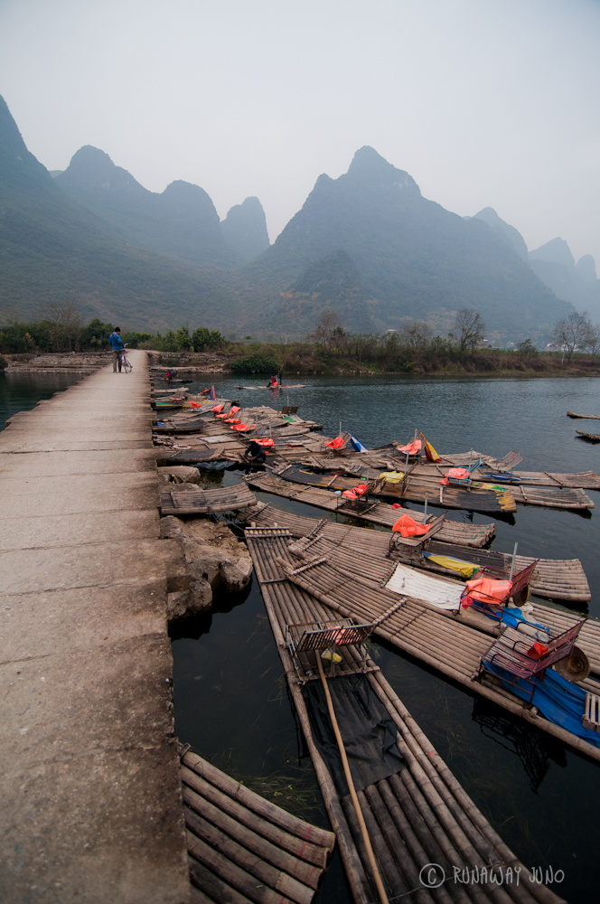 Crossing Yulong River