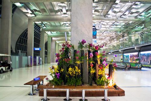 Suvarnabhoomi airport, Bangkok, Thailand