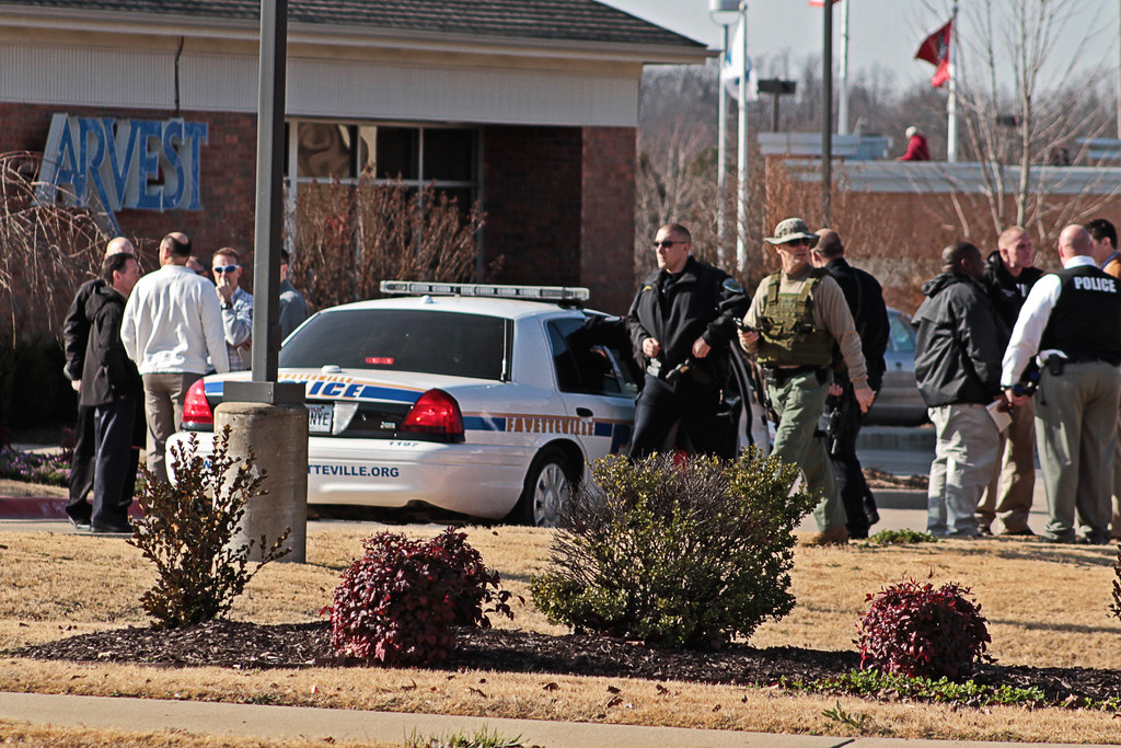 Robbery reported at MLK Arvest Bank branch in Fayetteville