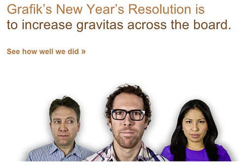 Grafik's 2011 Holiday Card Email