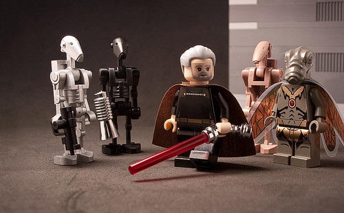 Custom Lego Count Dooku