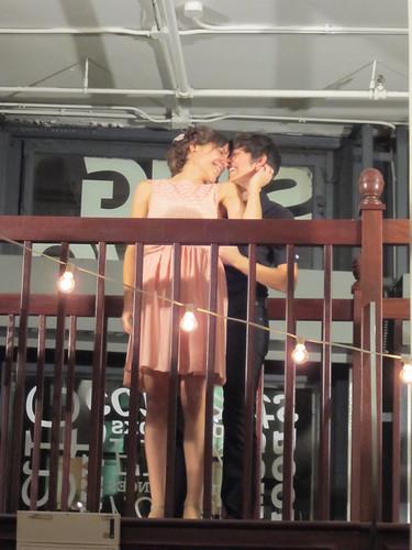 Dirty Dancing re-enactment! Julie & Rebecca's wedding
