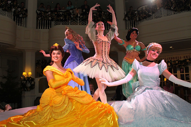The Disney Princesses Present The Sugar Plum Fairy