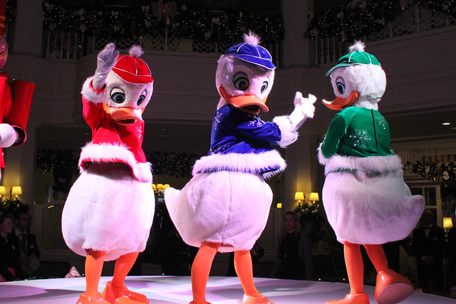 Huey, Dewey and Louie Present The Nutcracker