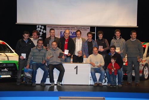 Gala entrega premios Federación Vasca