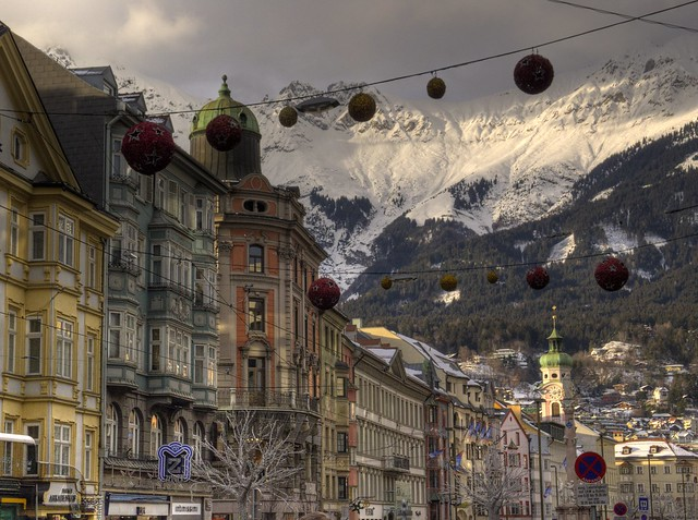 Christmas time in Innsbruck