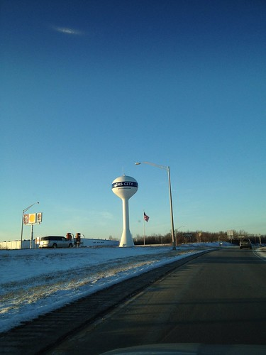 Gas City: Home of the Comic Sans Water Tower