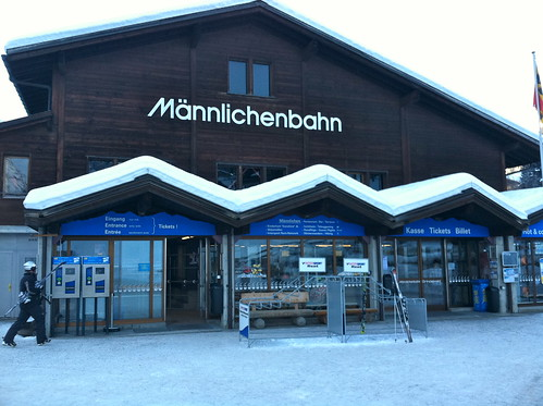 Mannlichenbahn Lift to to the Top