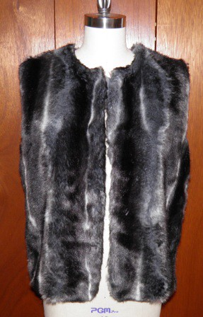 Sewing A Fake Fur Vest – Sewing Projects | BurdaStyle.com