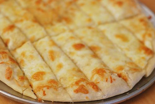 Cheesy Breadsticks - Fake Ginger