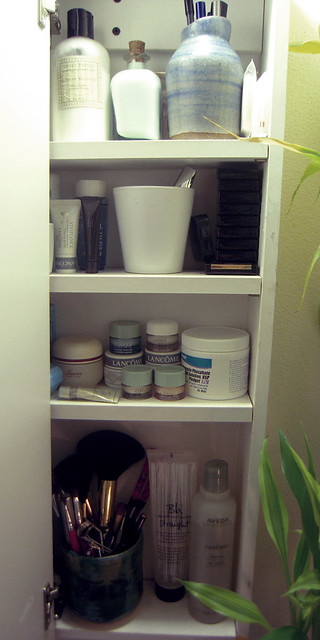 Organized Bathroom Shelf
