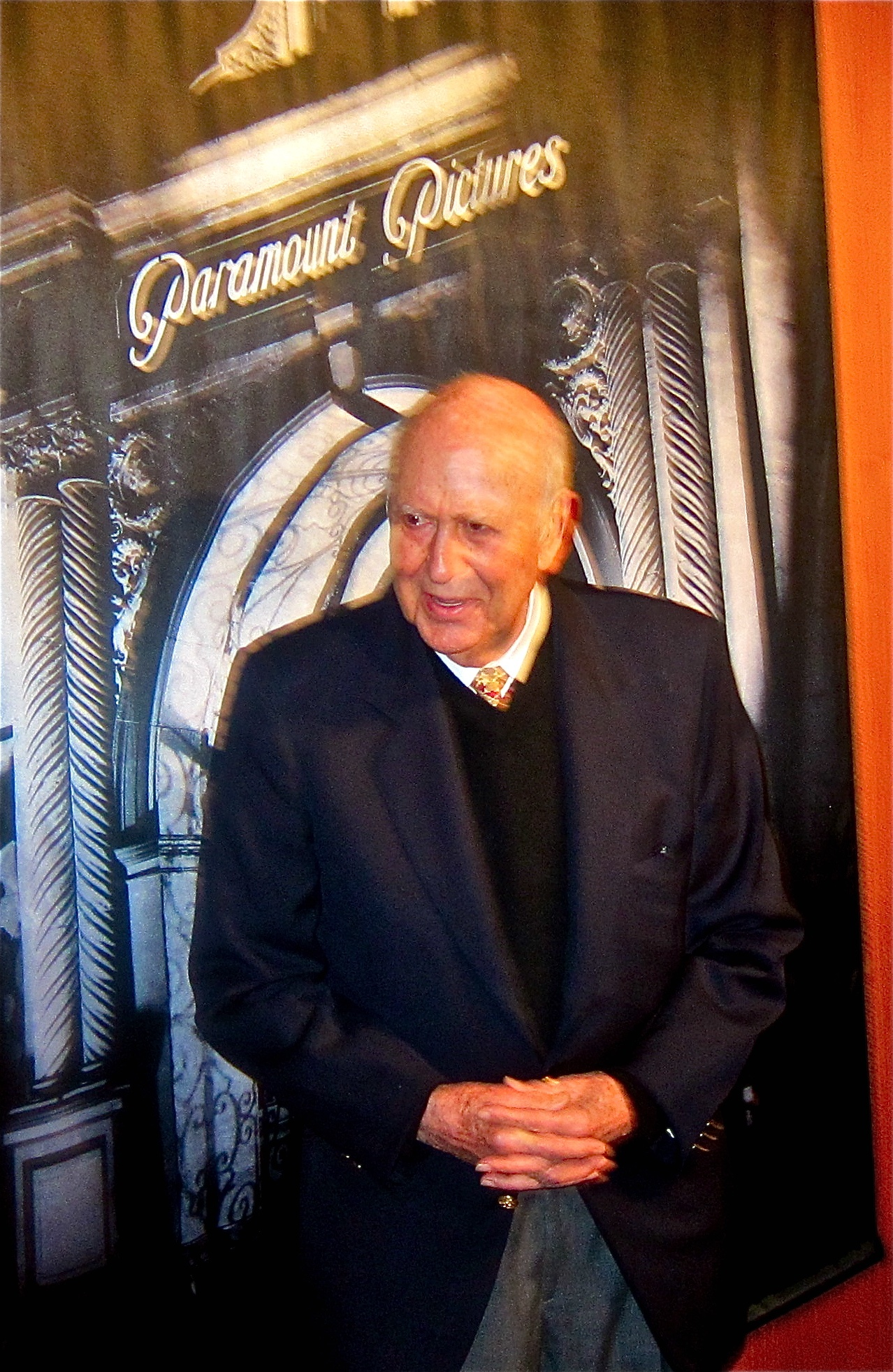 Carl Reiner at Wings screening