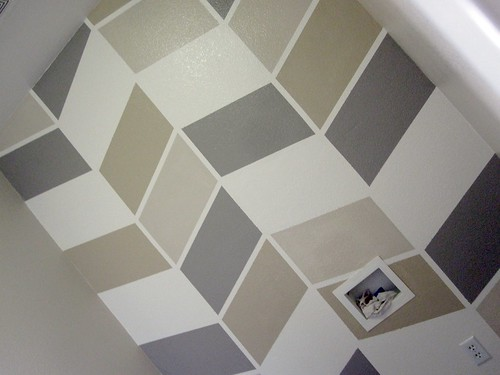 gallery for wall paint patterns using tape
