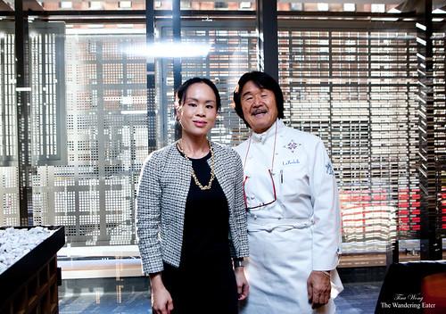 Me and Chef Hiroyuki Sakai
