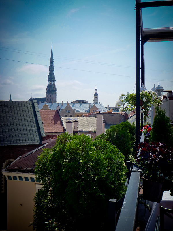 Rooftops of Riga