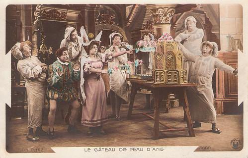 Le Gateau de Peau d'ane or The Cake of Donkey Skin